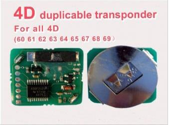 4D Duplicable Transponder Chip