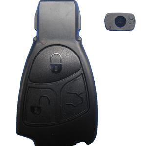 Benz smart key shell 3-button without the plastic board