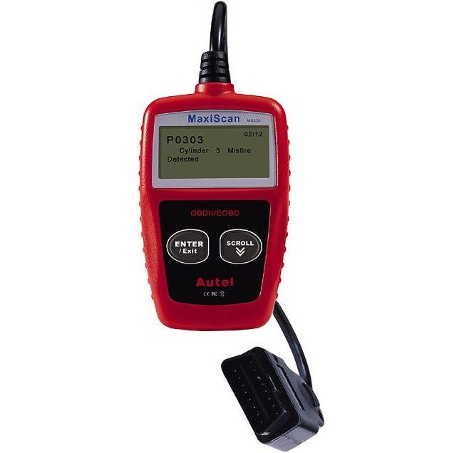 Autel Maxiscan MS309 OBD2 Can Eng/Fr/Sp/Dutch/G Scanner