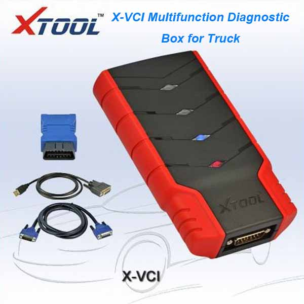 XTOOL X-VCI Multifunction Diagnostic Box for truck