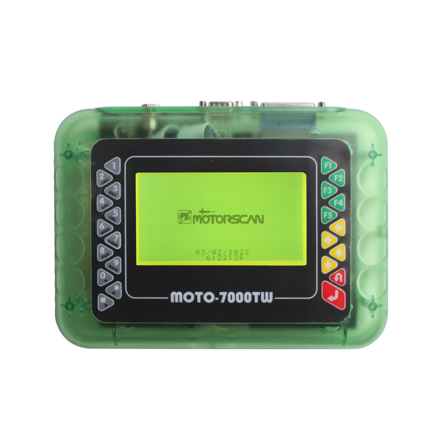 MOTO 7000TW V8.1 Universal Motorcycle Scan Tool